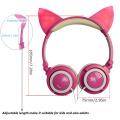 Original cute Cat Ear Pink Color Stylish Headphones