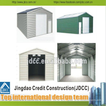 Instalación fácil Garaje de estructura ligera de acero