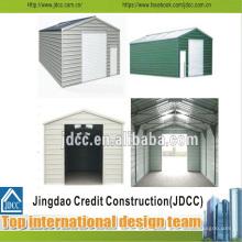 Fácil instalação de garagem de estrutura de aço leve