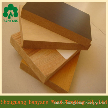 Melamine MDF for Furniture/Wholesale Melamine MDF Board Price