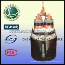 Cable de alimentación de aluminio