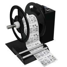 Machine de rebobinage de rouleau de papier d'étiquette avec le compteur
