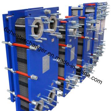 Intercambiador de calor de placas para la industria química
