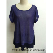 Women Blouse Factory for Summer/Autumn Lady Mesh Clothing