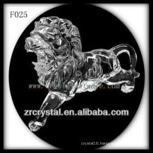 Crystal Hand Sculpted Lion crystal animal