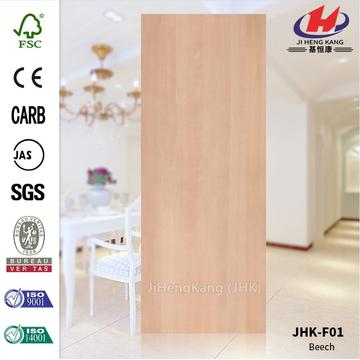 Veneer Beech Wood HDF Door skin
