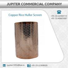 Haltbarer Kupfer-Reis-Huller-Bildschirm in kundenspezifischen Spezifikationen erhältlich