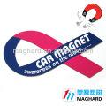 magnetic car decration stickers 3d car fridge magnet