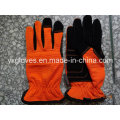 Work Glove-Synthetic Leather Glove-Safety Glove-Protective Glove-Construction Glove-Weight Lifting Glove