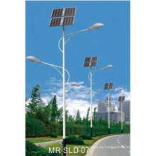 Luz de calle accionada solar 100W