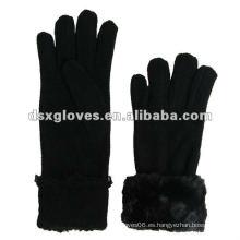 Polar Fleece invierno hombre guantes