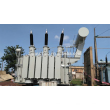Transformador principal barato 8000kva, 33 / 11kv, YN yn0 d +, Transformador de energía monofásico