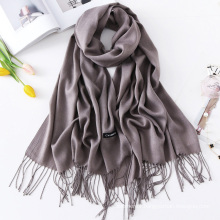 New arrival fashion women soft stretchy plain wholesale scarf hijab