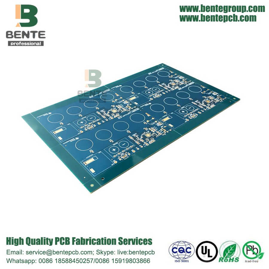 "IT180 4 Lagen PCB High TG PCB ENIG 3u ""Consumer Electronic"