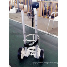 Aluminum Trolley with Basket Carrying Small-Size Gas Cylinders