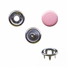Κουμπί τρούκ ροζ χρώμα για ένδυμα 4 κομμάτια