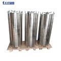 Industria química Caja del filtro de disco de acero inoxidable SS316L