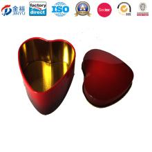 Petite boîte en étain en forme de coeur Jy-Wd-2015122814
