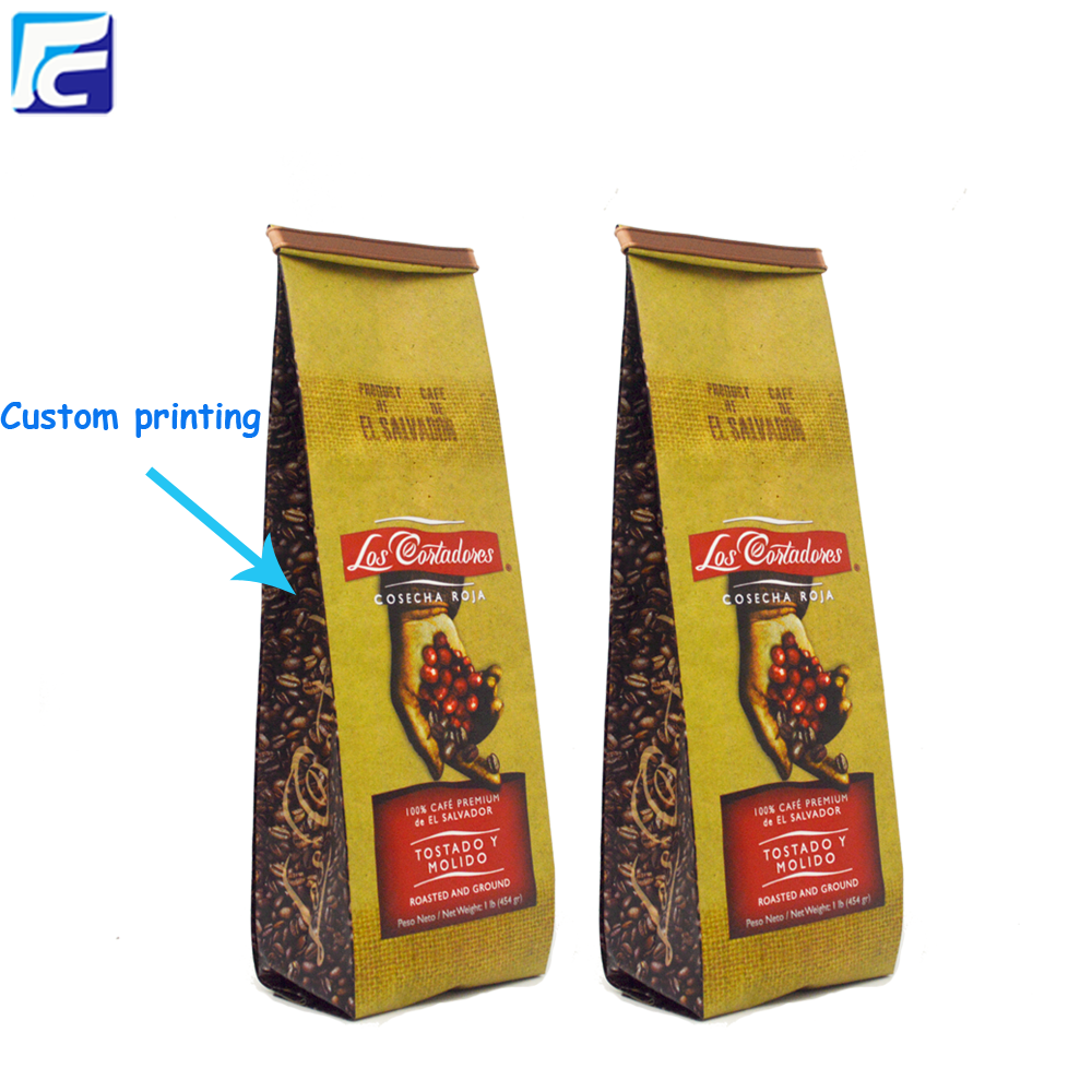 454gram Coffee Bags With Foil Line