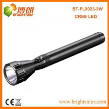 Factory Outlet CE Best 160lumen 3SC Handheld Long Range Aluminum Metal USA Cree led Rechargeable Torches