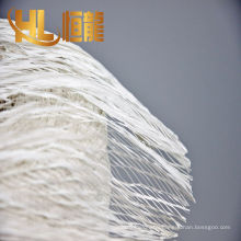 2017 high quality of pp twisted yarn, pp fibrillated filler yarn