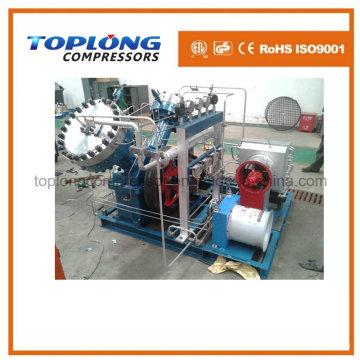 Compresor del diafragma Compresor del oxígeno Compresor del nitrógeno del impulsor Compresor del helio Compresor de alta presión del impulsor (Gv-45 / 4-150 Aprobación del CE)