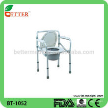 Foshan Chaise de salle à manger en aluminium