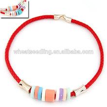 Alle Spiel Süßigkeiten Farbe Seil Choker Halskette
