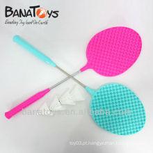 908025758 crianças raquetes de plástico equipamento desportivo badminton raquete