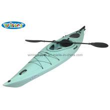 3.44mtrs Wooden-Like Single Sentarse en el Kayak Touring