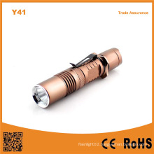 Y41 Xml T6 LED Aluminum Rechargeable Flashlight