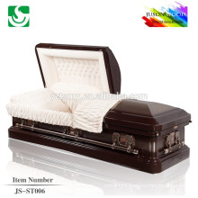 velvet lining good finish accessory metal caskets