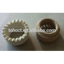 Сварка коричневый/желтый/белый Кордиерита керамический ferrule для сварки шпильки