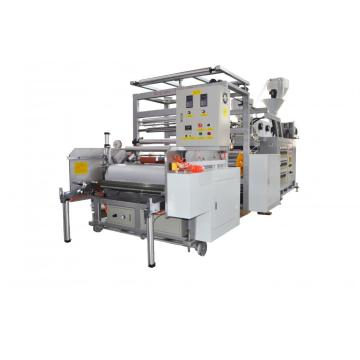 1000mm Stretch Film machine Dua / Tiga lapisan LLDPE exturder plastik- Koridor jenis