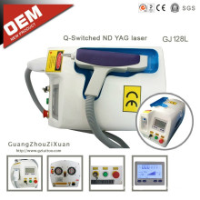 Goochie OEM suministros tatuaje máquina de eliminación de láser (gj128l)