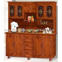 Holzküche Schrank