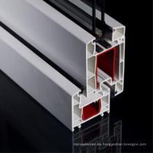 Perfil de PVC de 60 mm para puertas y ventanas de uPVC