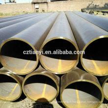 2015 Tuyau en acier inoxydable soudé de qualité supérieure