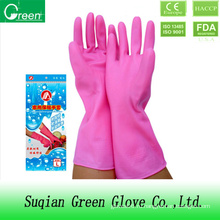 Дешевые стиральные перчатки ПВХ