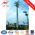 Octogonal 11.8m 500dan Steel Gate Pole for Power Transmission