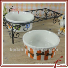 porcelain ceramic pet bowls