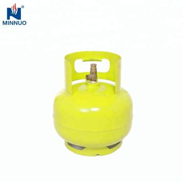 3 kg leere LPG-Gasflasche, Propantank, Gasflasche