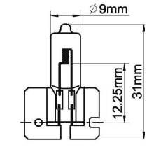 lámparas auto Halógeno / H2