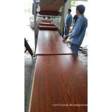 Konkurrenzfähiger Preis China PVC-Fabrik-einfaches installieren PVC-Wand-Blatt