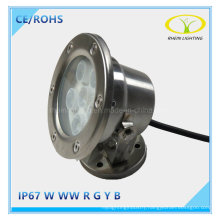 Hot Sales IP67 6W LED Underwater Fountain Light