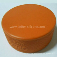 Puck de hockey de moda personalizado de silicio