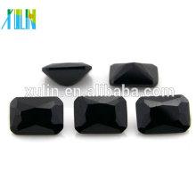 octágono claro zirconia cúbico negro nombres de piedras preciosas