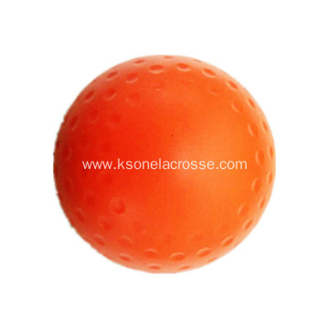 Dimple and smooth field hockey ball
