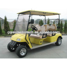 Camión de golf eléctrico de 4 asientos de la moda ambiental con el certificado del CE