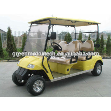 environmental fashion 4 seats electric golf cart with CE certificate